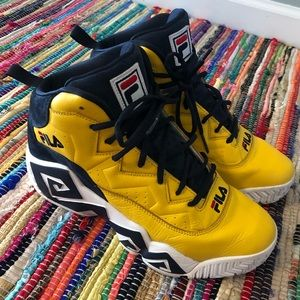 Fila MB Basketball Sneaker Leather Suede Size 11